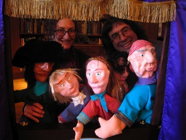 Caravan Puppets Passage to Freedom Passover Celebration Image